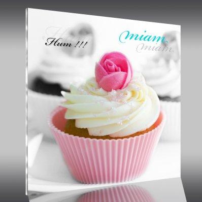 Quadro Acrílico Cupcake