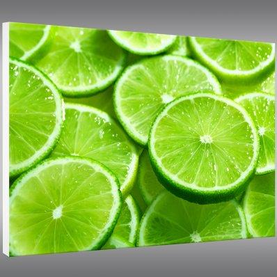 Quadro PVC Forex limão