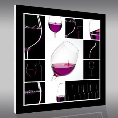 Quadro PVC Forex vinho