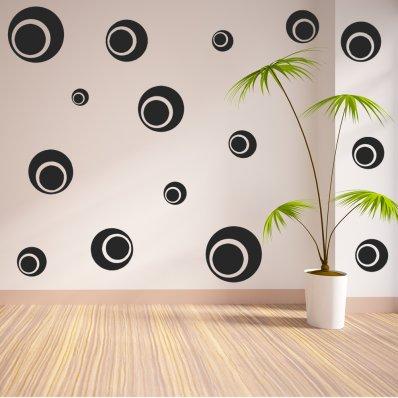 Round Set Wall Stickers