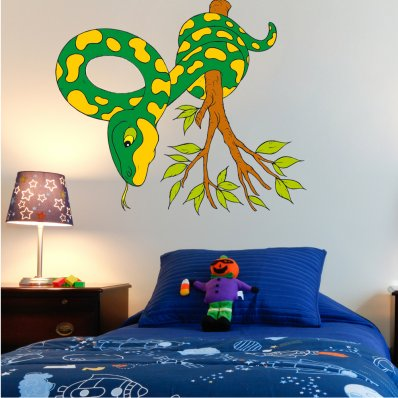 Snake Branch Wall Stickers