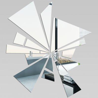 Adesivi follia specchio acrilico plexiglass astratto - Plexiglass a specchio ...