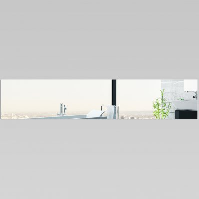 Adesivi follia specchio acrilico plexiglass rettangolo - Plexiglass a specchio ...