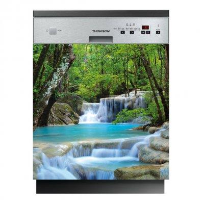 Spülmaschine Aufkleber Fluss