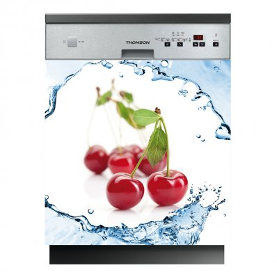 Spülmaschine Aufkleber Kirsche