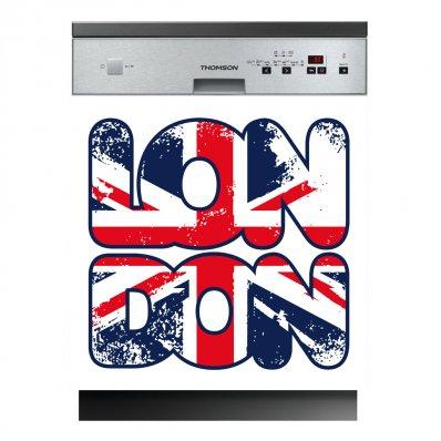 Spülmaschine Aufkleber London