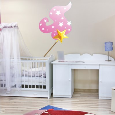 Star Wand Wall Stickers