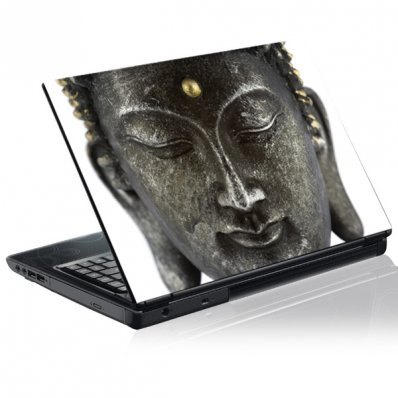 Sticker laptop exterior Buddha
