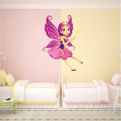 Sticker Pentru Copii Zana Bagheta Magica