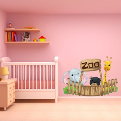 Sticker Pentru Copii Zoo