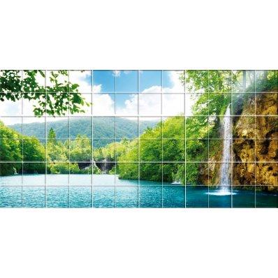 Sticker pentru faianta Cascada