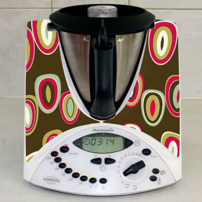 Sticker Thermomix TM 31 Rotund Abstract