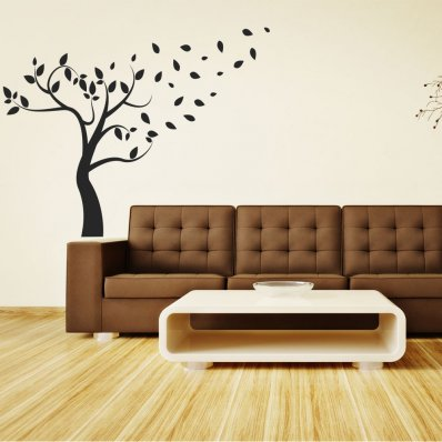 stickers arbre pas cher stickers folies. Black Bedroom Furniture Sets. Home Design Ideas