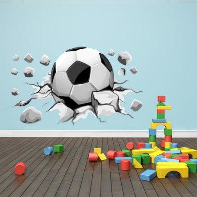Autocollant Stickers ado ballon de foot