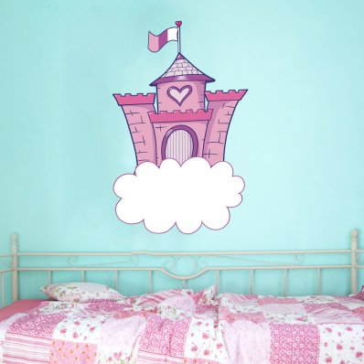 Stickers Chateau Nuage