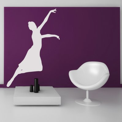 Stickers danseuse