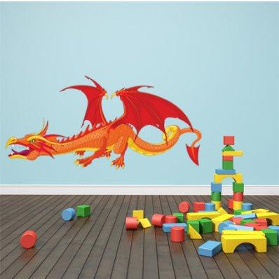 Autocollant Stickers enfant dragon