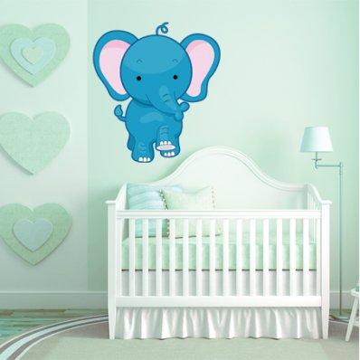 Autocollant Stickers enfant elephanteau