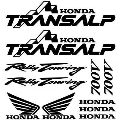 Autocollant - Stickers Honda Transalp 700v