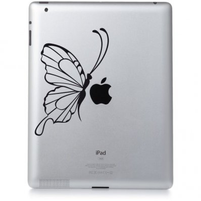 Stickers ipad 3 papillon