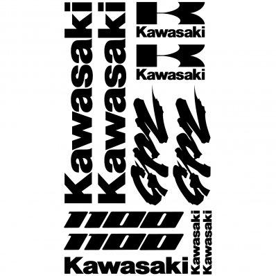 Autocollant - Stickers Kawasaki GPZ 1100