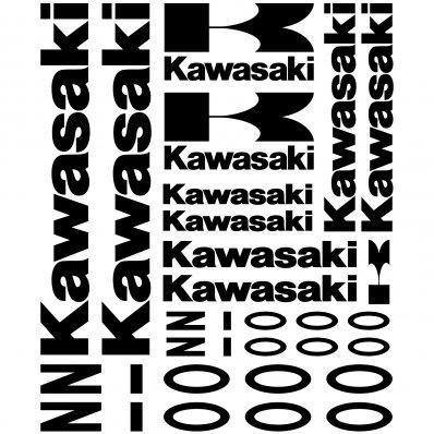 Autocollant - Stickers Kawasaki Z 1000