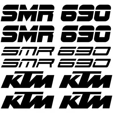 Autocollant - Stickers Ktm 690 smr