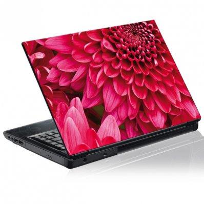 Stickers PC Fleur Rose