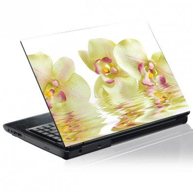 Stickers PC Orchidée