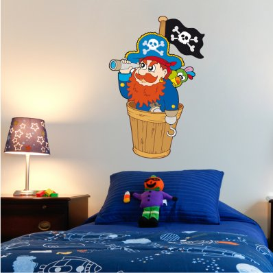 Stickers Pirate Mat