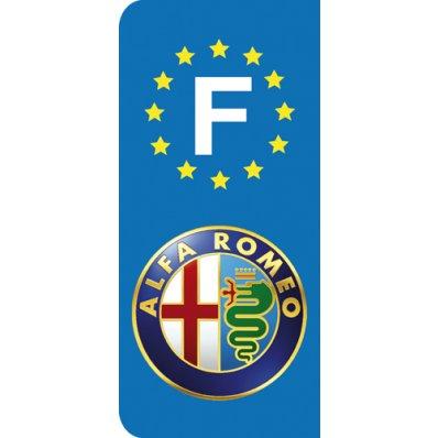Stickers Plaque Alfa Romeo