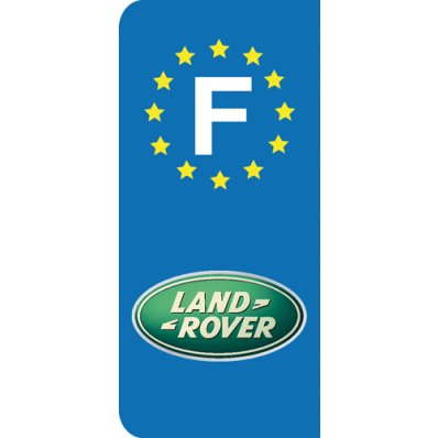 Stickers Plaque Land Rover