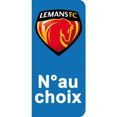 Stickers Plaque Le Mans