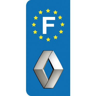 Stickers Plaque Renault