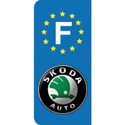 Stickers Plaque Skoda
