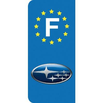 Stickers Plaque Subaru