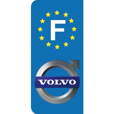 Stickers Plaque Volvo