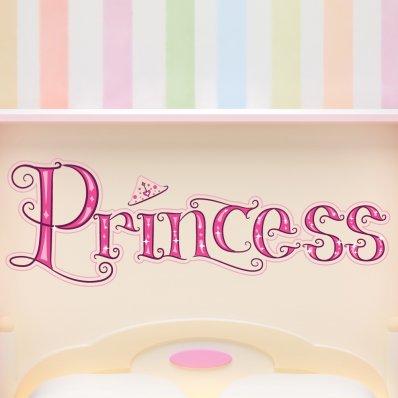 Autocollant Stickers enfant princesse