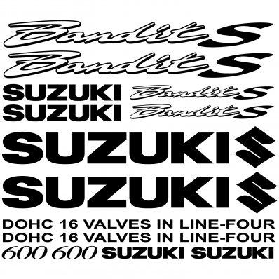 Autocollant - Stickers Suzuki 600 bandit S