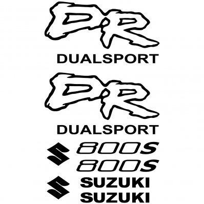 Autocollant - Stickers Suzuki DR 800s