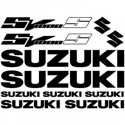 Autocollant - Stickers SV1000 S