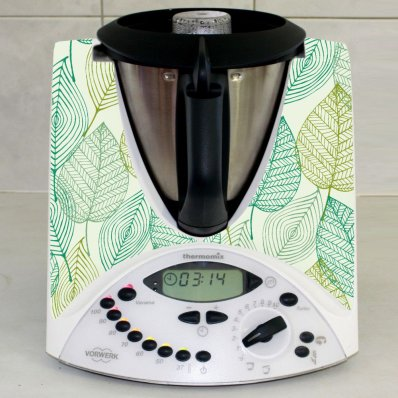 Stickers Thermomix TM31  Feuilles d'automne 2