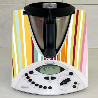 Stickers Thermomix TM31 Horizontal Multicolors