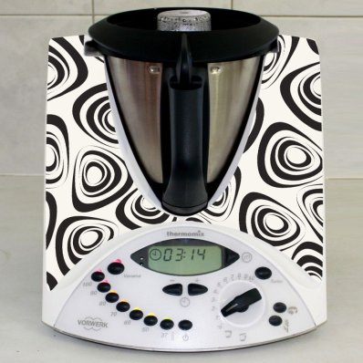 Stickers Thermomix TM31  Rond design 2