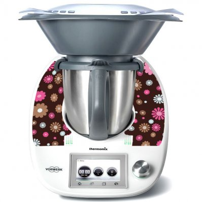 Stickers Thermomix TM 5 Flowers