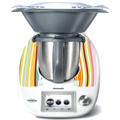 Stickers Thermomix TM5 Horizontal Multicolors