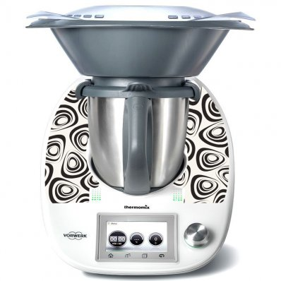 Stickers Thermomix TM5 Rond design 2