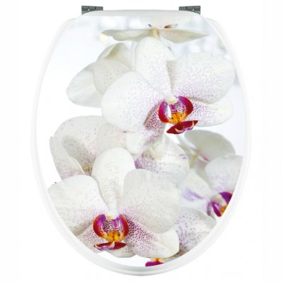 Stickers Orchidée Blanche