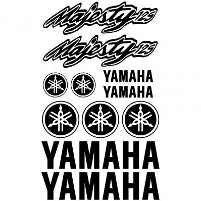 Autocollant - Stickers Yamaha Majesty 125