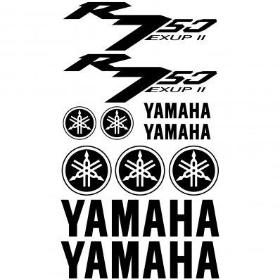 Autocollant - Stickers Yamaha R750